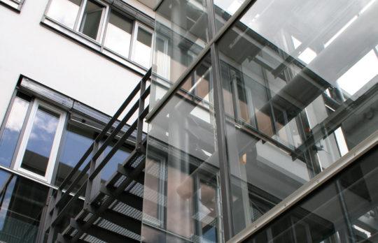 Aufzug montiert von Hollmann Aufzüge GmbH